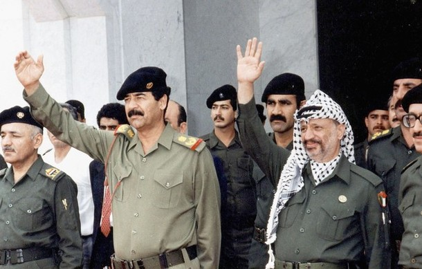 PLO was a strong supporter of Saddam Husein, also after the invation of Kuwait