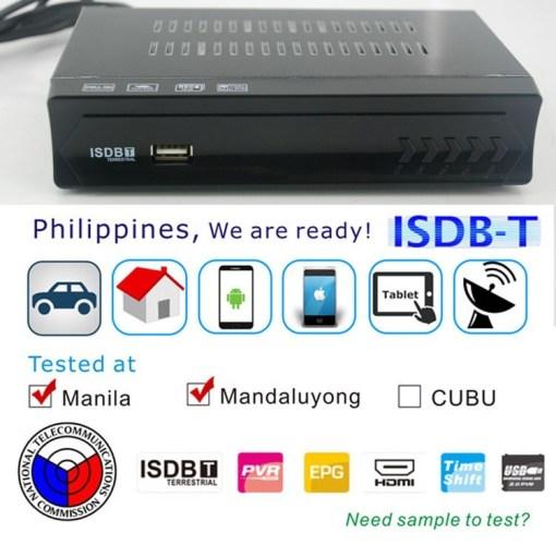 VCAN1047 Home ISDB-T Digital TV Receiver TV Plus black box MPEG4 HDMI USB PVR Remote 1