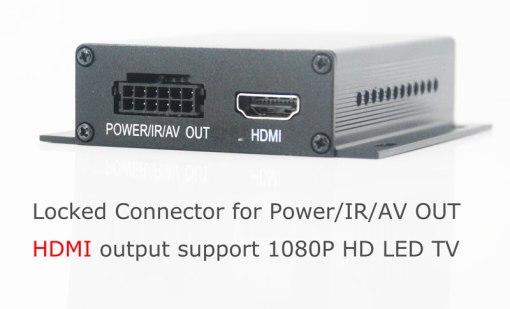 Car DVB-T TV receiver box diversity 2 antenna MPEG4 H.264 STB dvb-t7200 4