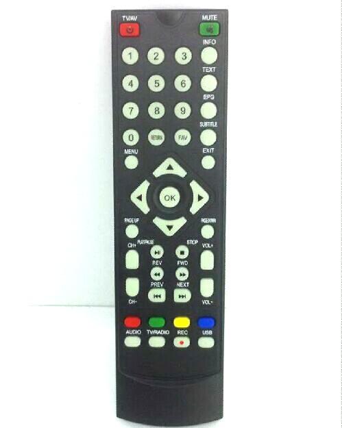 Remote control for DVB-T2010HD Car DVB-T TV Receiver set top box VCAN DVB-T265 DVB-T221 DVB-T24 DVB-T22 1