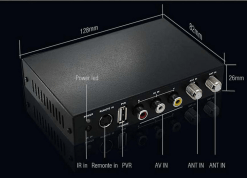 DVB-T2100HD Car DVB-T MPEG4 H.264 tv receiver with 2 tuner PVR USB Record 8