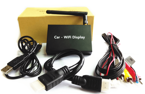 VCAN1245 Universal WIFI Wirelss Mirror Link BOX with CVBS and HDMI output 1
