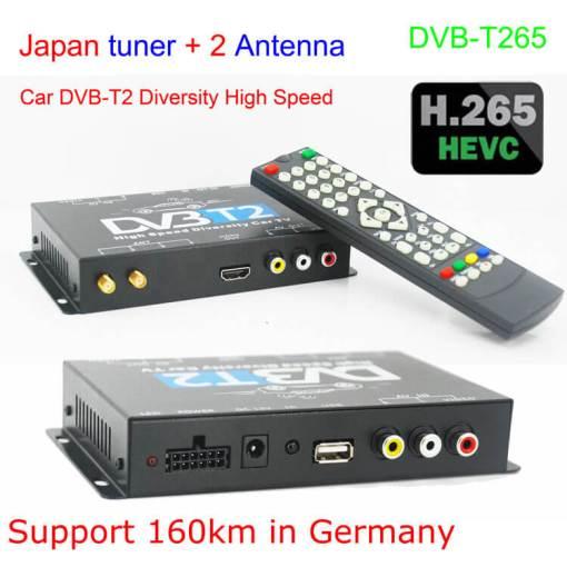 Deutschland DVB-T2 H265 Codec HEVC Freenet 2017 Neues Modell DVB-T265 auto mobile digitale Auto DVB-T2-TV-Empfänger 3