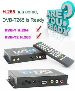 Deutschland DVB-T2 H265 Codec HEVC Freenet 2017 Neues Modell DVB-T265 auto mobile digitale Auto DVB-T2-TV-Empfänger 9