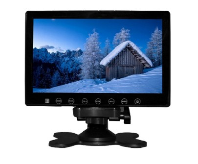 7inch car digital lcd screen monitor with touch button