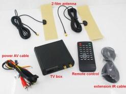 Car ISDB-T 2 tuner Full Segment dual antenna for Brazil Philippines Chile ISDB-T8800 4