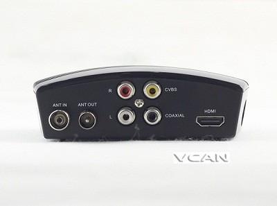 VCAN1076 HD mini Home DVB-T2 Digital TV Receiver H.264 black box MPEG4 USB PVR 1