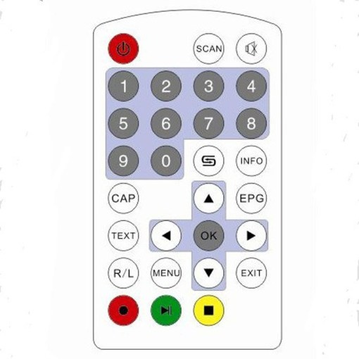 One Antenna auto mobile tv tuner HD car tv receive box for Japan/Brazil/Chile ISDB-T ISDB-T5009 3
