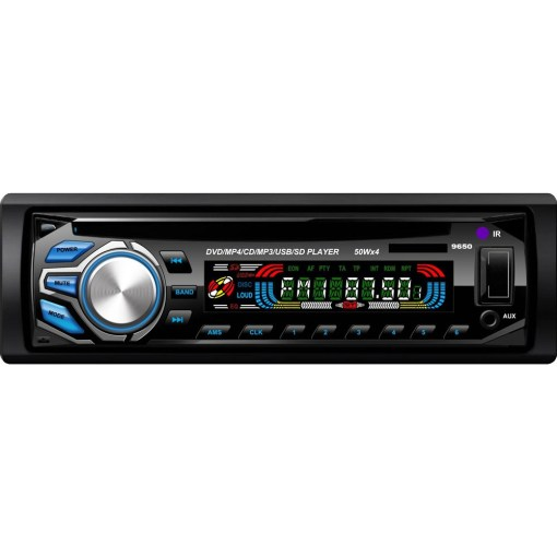 Vcan1236 1 Din Detachable front panel DVD CD MP3 MP4 USB player Car radio Amplifier 1