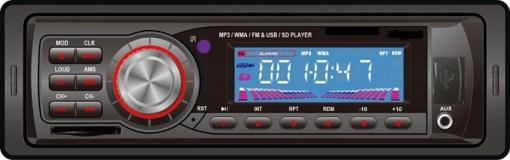 VCAN0714 Car USB SD MP3 player FM radio 1