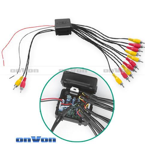 Audio Distribution signal Splitter Amplifier distribute 5 Output 1