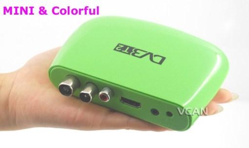 Mini HD DVB-T2 Home H.264 Set Top Box 4