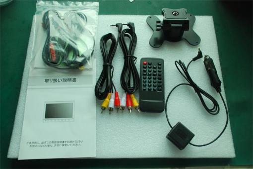 2 tuner 2 antenna 10.1 inch full seg digital TV receiver 5