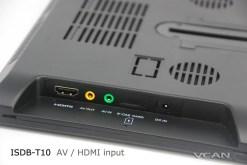 2 tuner 2 antenna 10.1 inch full seg digital TV receiver 18