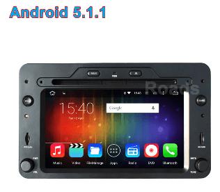 Alfa Romeo android GPS VCAN1443 Quad Core 5.1.1 Car DVD GPS for 159 Sportwagon Spider Brera 1