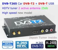 Germany DVB-T2 H265 HEVC 2017 New Model DVB-T265 automobile digital car dvb-t2 tv receiver 11