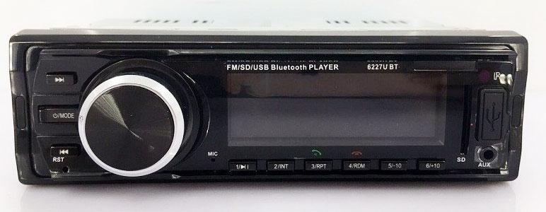 Fixed Panel Car MP3 USB SD FM Bluetooth MP3-6227 25