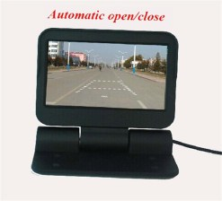 VCAN0998 Auto Electric flip 4.3 monitor LCD Color Car Monitor 7