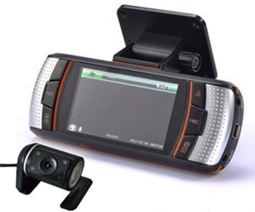 Driving recorder with GPS with External Camera VCAN1301 1