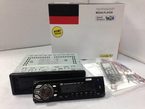 Detachable panel DVD Player VCAN1369 1