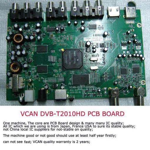 Car DVB-T Receiver MPEG4 H.264 2 tuner 2 diversity antenna Booster Recorder DVBT 12