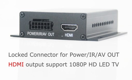 In-car Auto DVB-T DVB-T2 TV receiver box diversity 2 antenna MPEG4 H.264 STB dvb-t7200 4