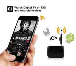 WiFi-TV1W digital TV wifi receiver dvb-t isdb-t for smartphone no need internet 8