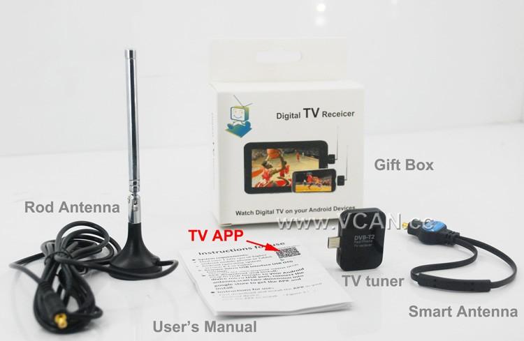 ATSC USB TV stick mobile phone use tuner USA Canada Mexico micro usb android phone pad ATSC-77 13