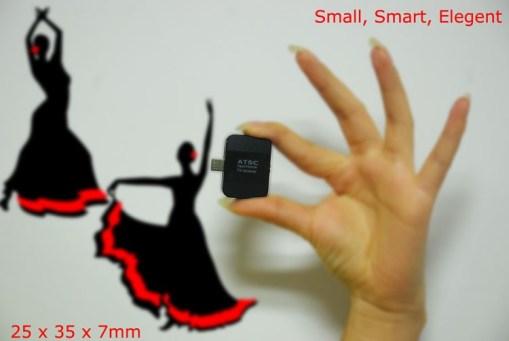 ATSC USB TV stick mobile phone use tuner USA Canada Mexico micro usb android phone pad ATSC-77 4