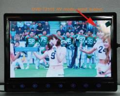 diversity dvb-t cofdm 10.1 inch digital tv monitor dvb-t2 receiver hdmi in out 6M 7M 8M bandwidth 170M to 930M frequency DVB-T2101HD 5