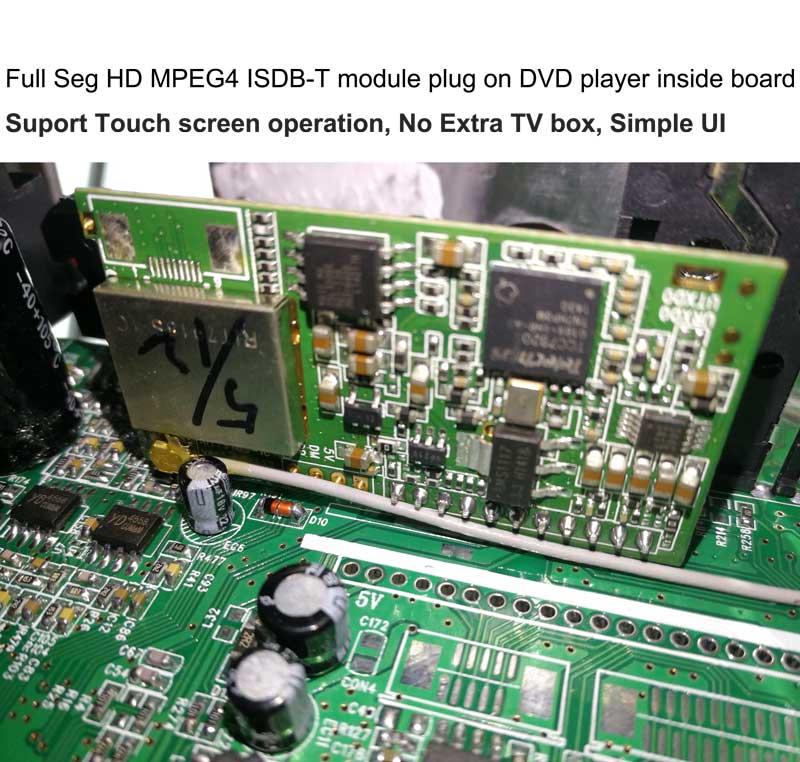 ISDB-T TV Module modulator full segment HD MPEG4 for in-car dvd gps head unit portable devices 1