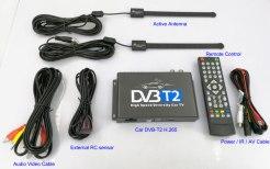 Car DVB-T2 H265 HEVC Codec Digital TV Receiver Auto Mobile Germany Standard 2 antenna H264 HD for all dvb country 11
