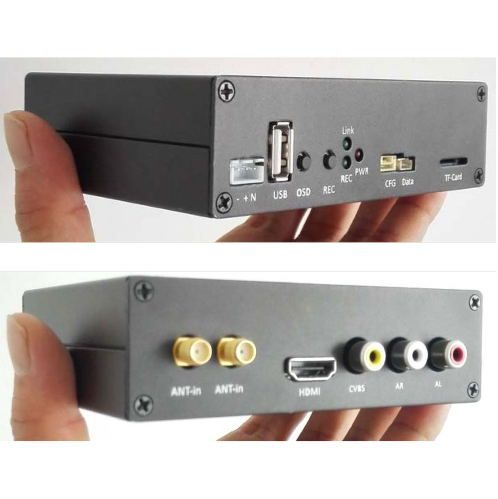 COFDM Wireless Video Receiver HDMI cvbs input mini modulator module RX long distance fpv uav 3