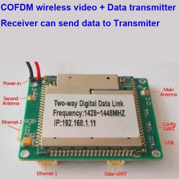 Two-way wireless transmission digital data link module Vcan1681 1