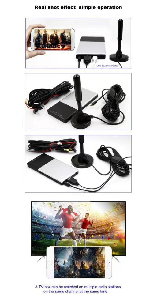 WIFI DVB-T2 Tuner Digital TV DVB-T Receiver for Android phone and pad Vcan1654 17