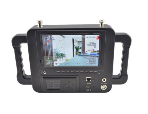 7 Inch COFDM wireless receiver HD LCD Monitor Video Receiver Sun Shade for transmitter transmission system 2