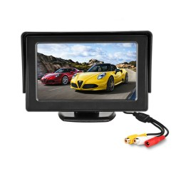 4.3 inch car Review monitor hd for parking reverse camera 8