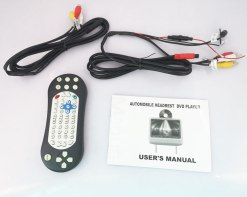 7 inch Headrest DVD player Black USB SD IR FM vc011 9