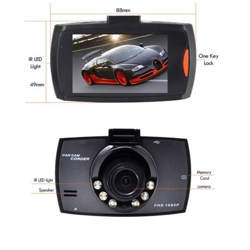 2.7 inch car DVR dashcam camera recorder Full HD 1080P IPS Screen Video Recorder Night Vision G-sensor Registrator 3