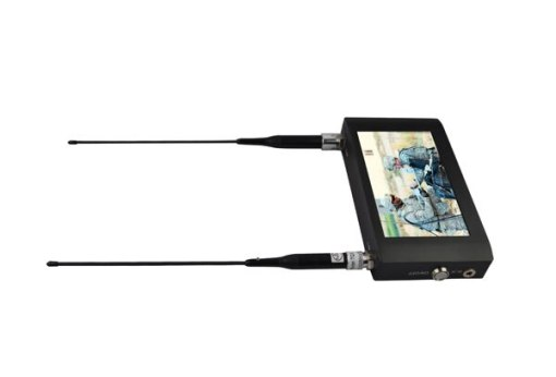 Handheld Wireless Receiver 7 inch Touch Screen COFDM Receiver Digital Video Receiver with 7 inch Monitor 3