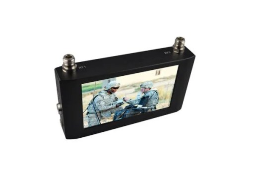Handheld Wireless Receiver 7 inch Touch Screen COFDM Receiver Digital Video Receiver with 7 inch Monitor 4