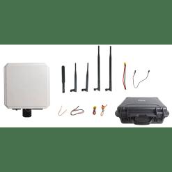 80KM wireless transmitter-receiver Video Data RC Transmission System HDMI SDI long-range low latency Vcan1702 2