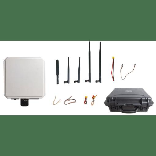 80KM wireless transmitter-receiver Video Data RC Transmission System HDMI SDI long-range low latency Vcan1702 1