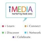 iMedia logo by Helen Krieger