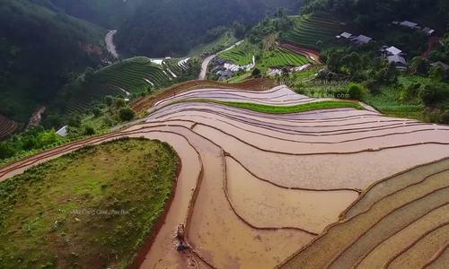 Vietnam seen from above