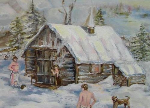 Можно ли париться зимой в бане-бочке?