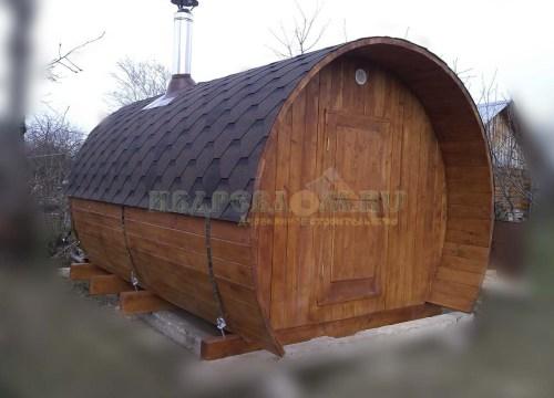 Баня-сферобочка 3,5 метра