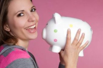 Piggy Bank Girl