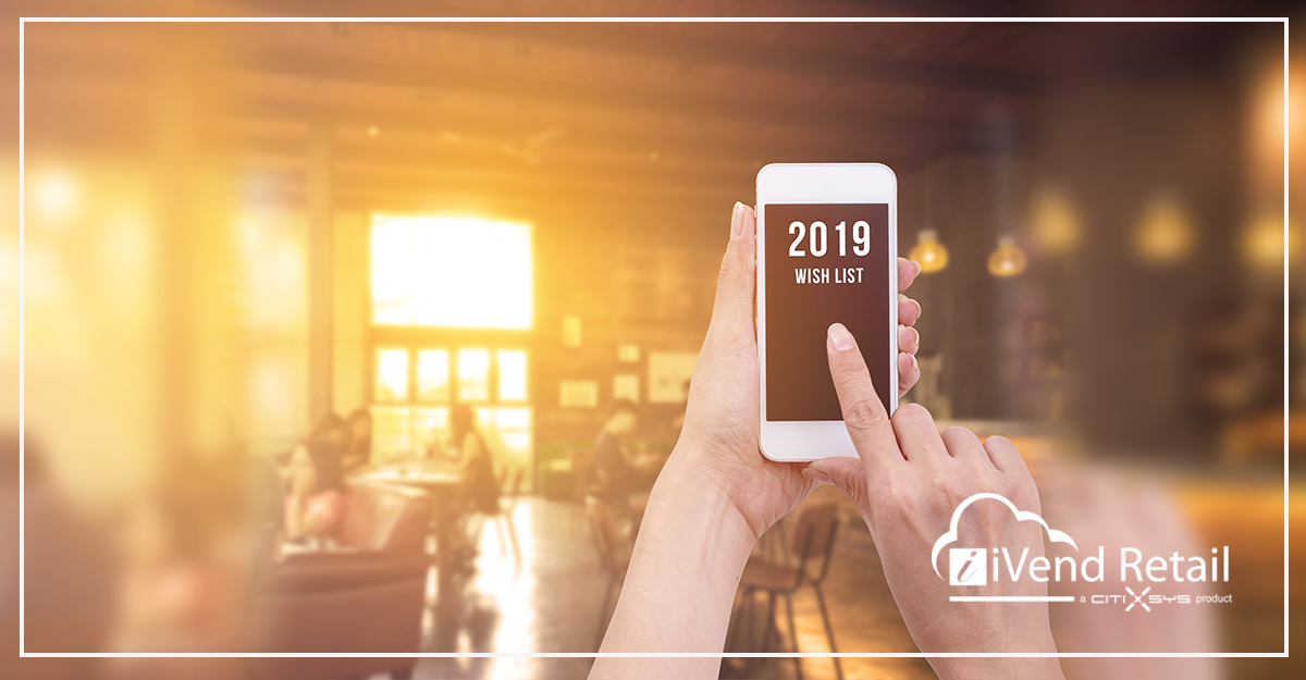 What's on the CIO and CTO retail technology wish-list in 2019?