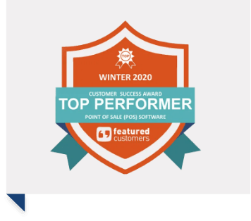 iVend Retail is a Top Performer in the POS software category report